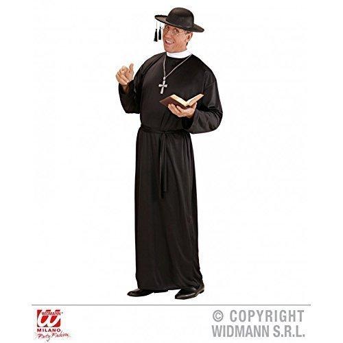 Sacerdote / Pastor / Pastore Costume per Uomo / uomo cui Cintura Tgl L = 52