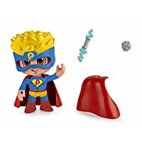 Pinypon Action-Pack of 2Figurines Superhero and Footballer, Multicoloured (Famous (Assortments) 700014492)