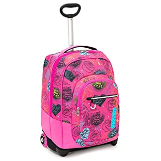 Seven Trolley Fit Seven Shiny Girl Trolley para portátil 48 Centimeters 35 Rosa