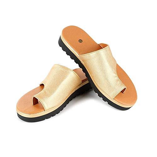 2019 Nuevas Sandalia Zapatos Mujeres Cómodas Plataforma Verano Playa, Zapatos de Viaje...
