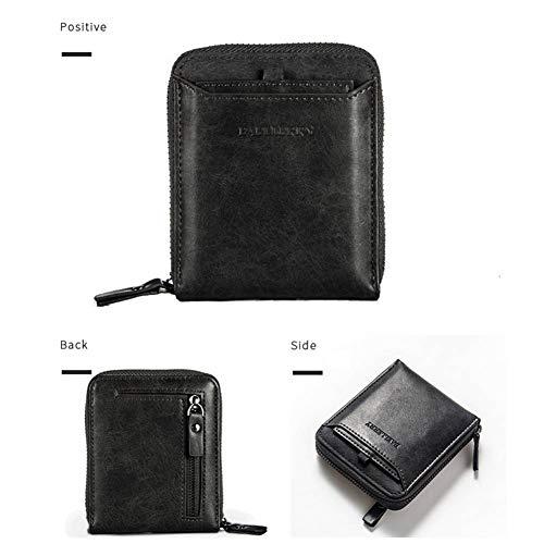 GUAN Brieftasche Retro - männlichen horizontale reißverschluss - Paket Paket Brieftasche geldbörse der Jungen Männer