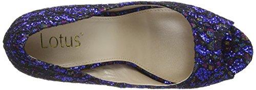Lotus - Anthea, Scarpe col tacco Donna Blu (Blue (Blu))