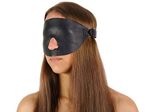 Extrem Gangbang Blindfold Augenbinde (Echtleder)