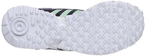 adidas Racer Lite W Damen Laufschuhe Blau (Ngtsky/Frogrn/Ftw)