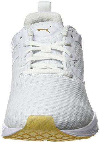 Puma Pulse Xt V2 Gold Wns Sneaker Bianco (Weiß (puma WHITE-GOLD 01))