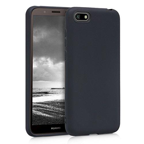 kwmobile Huawei Y5 / Y5 Prime (2018) Hülle - Handyhülle für Huawei Y5 / Y5 Prime (2018) - Handy Case in Schwarz matt