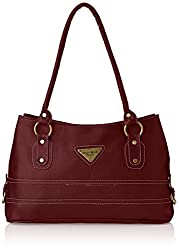 Fostelo Women's Handbag (Maroon) (FSB-204)
