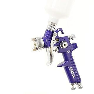 Merry Tools HK Mini Farbspritzpistole HVLP Aluminium 200CC Becher 1,0 mm Düse, Schwerkraft 22145610