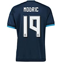 2015-2016 Real Madrid Third Football Soccer T-Shirt Camiseta (Luka Modric 19