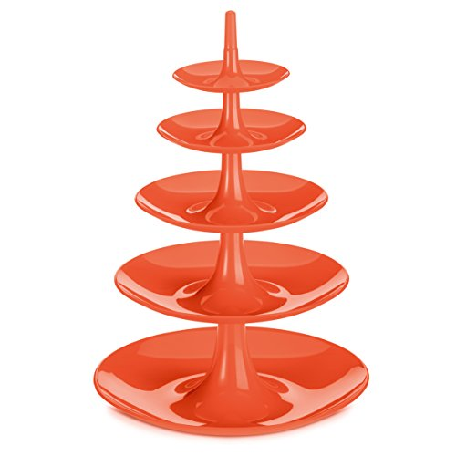 koziol-3185633-babell-compotier-plastique-orange-36-x-36-x-51-cm
