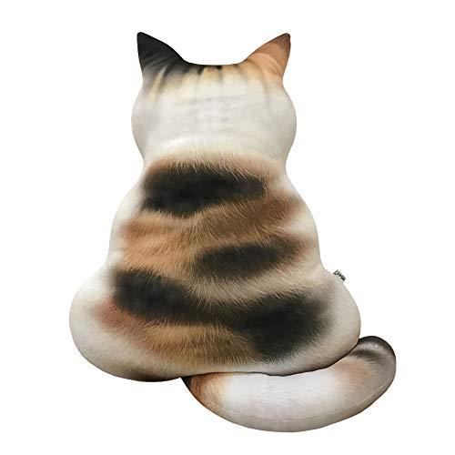 Dragon868 3D Bedruckte Katze RüCkenkissen Plüschspielzeug Geschenk Simulation Cat Kissen