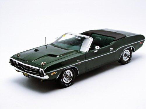 Greenlight 1:18 1970 Dodge Challenger Convertible Mecum Auction Die Cast Vehicle