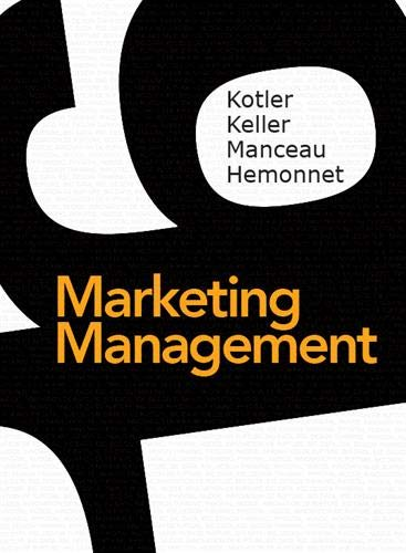 Marketing Management 16e édition + MyLab par  Philip Kotler, Kevin Keller, Delphine Manceau, Aurélie Hemonnet