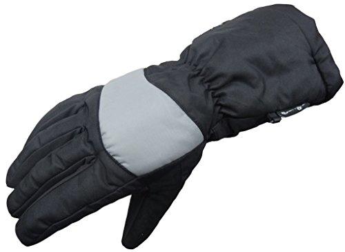 Bangla 04 Winter Motorradhandschuh Biker Handschuhe Thinsulate gefüttert schwarz-grau XXL