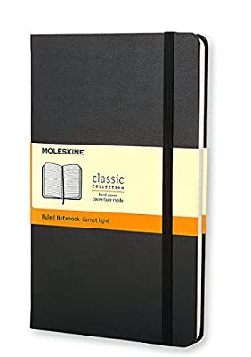 Moleskine Ruled Notebook (13 x 21cm)
