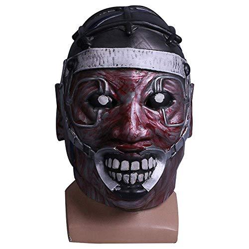 YaPin Game Dawn Töten Cos Stromschlag Doktor Maske X Professor Latex Maske Halloween Maske Haunted House Requisiten