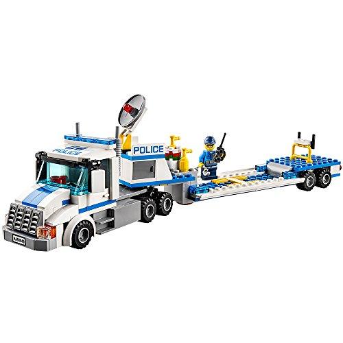 Lego city 60049 camion trasportatore con elicottero - Lego city camion police ...