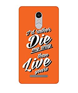 Happoz Xiaomi Redmi Note 3 Cases Back Cover Mobile Pouches Shell Hard Plastic Graphic Armour Premium Printed Designer Cartoon Girl 3D Funky Fancy Slim Graffiti Imported Cute Colurful Stylish Boys D346