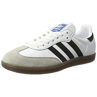 adidas Herren Samba OG Gymnastikschuhe, Elfenbein (FTWR White/core Black/Clear Granite), 43 1/3 EU