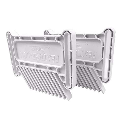 DEtrade Doppelte Elektrische Kreissäge Multifunktionsholzbearbeitungs-Werkzeug-Schlitz-Feder-Bretter Holzbearbeitung Hilfswerkzeuge (White)