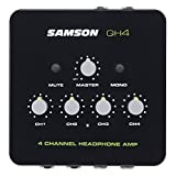 Samson QH4 4-Channel Studio Headphone Amplifier