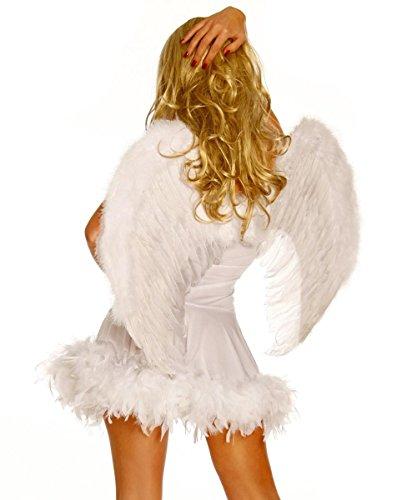 Traumhafte Engel - Flügel Rot Teufel Amor Weinhachten Kostüm, - Amor Flügel Kostüm