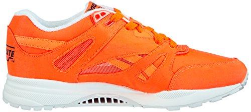 Reebok - Ventilator Day Glo, Baskets Da Donna Arancione (orange Solaire / Blanc / Noir)
