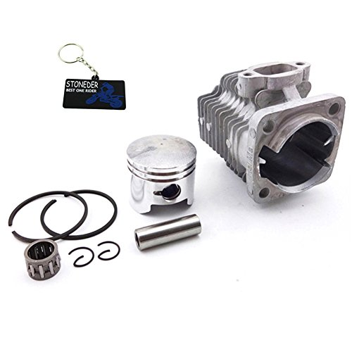 STONEDER 44 mm Zylinder Kolben Kit für 49 cc 2 Takt Motor Mini Quad Atv Pocket Dirt Bike