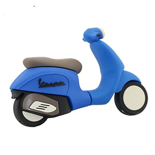16GB Moto Azul Modelo USB Flash Drive Pen Drive USB Flash Drive U Disco