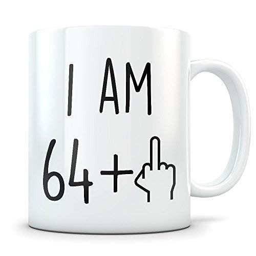 Funny 65th Birthday Gift for Women and Men Turning 65 Years Old Happy Bday Coffee Mug Gag Party Cup Idea for a Joke Celebration Best Adult Birthday Presents (Birthday Party-ideen 65th)