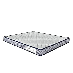 """Amazon Brand - Solimo Essential Quilted  6"""" Queen Memory foam Mattress  72*60*6 inches"""