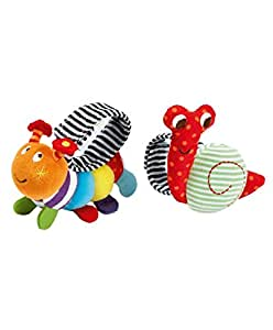 Mamas & Papas Babyplay Wrist Rattle Toy Pack