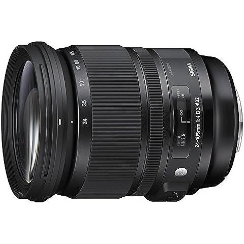 Sigma 24-105mm f/4 DG OS HSM - Objetivo para cámara réflex Canon (estabilizador, diámetro filtro 82 mm), color