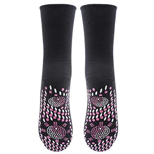 Hengxing Selbsterwärmungssocken Klatschdruck Selbsterwärmung Magnetische Turmalin Therapie Gesundheit Socken -