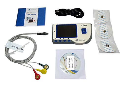 HEALFORCE PC-80B Heart ECG Monitor Data Recorder W/Software