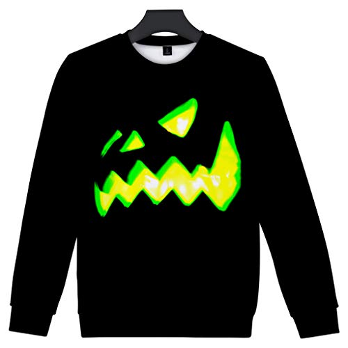 Paare Scary Kostüm - SSUPLYMY Mens Casual Sweatshirt Scary Halloween