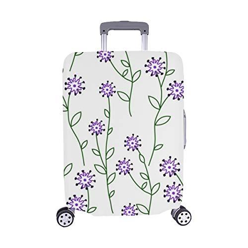 (Nur abdecken) Wallpaper Spandex Staubschutz Trolley Protector case Reise-Gepäckschutzkoffer-Abdeckung 28,5 X 20,5 Zoll -