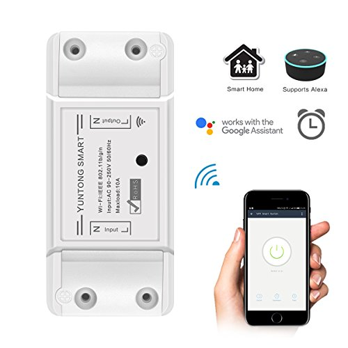\WiFi Smart Switch Wireless Remote Control Relais Switch Modul DIY Ihr Smart Home mit Countdown und Timer Funktion AC 90-250V 2200W (3g-remote Power Switch)