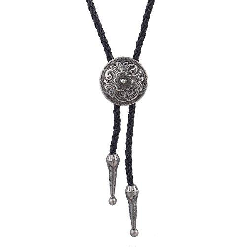 Corbata Colgante, Western Silver