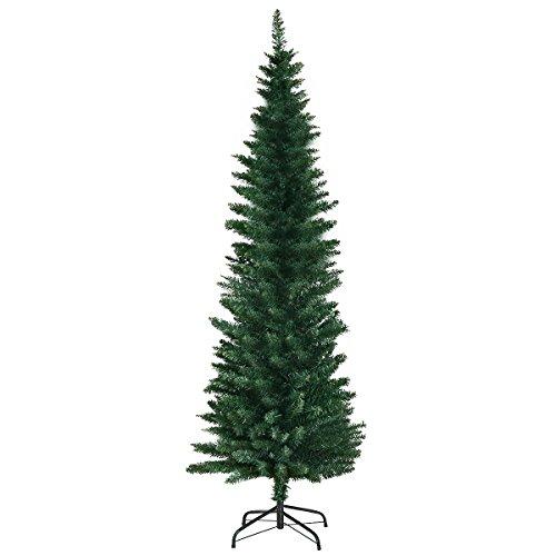 COSTWAY Weihnachtsbaum Künstlicher Tannenbaum Christbaum 120/150/180cm Grün (180cm)