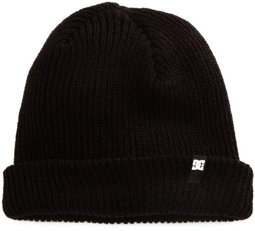 DC Shoes Herren Hat Hat CLAP M BLK Hat, schwarz, One size - Dc-mütze