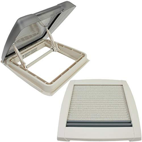 MPK VisionStar M pro getönte Klarglas Dachluke Dachfenster Dachhaube 40 x 40