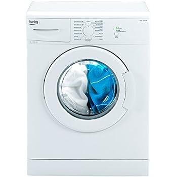 beko wml 15106 ne waschmaschine frontlader a 168 kwh jahr 1000 upm 5 kg wei. Black Bedroom Furniture Sets. Home Design Ideas