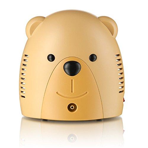 Only for Baby Inhaliergerät für Kinder Erwachsene Honigbär Inhalator Vernebler