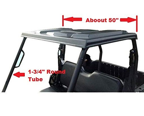 P/N12507 Mid-Size Polaris Ranger Plastic Top (fits: Round tube cage) by Extreme Metal Products LLC