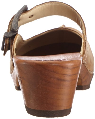 Woody Jaqueline Jaqueline, Chaussures femme Marron - Braun (Crazy Horse testa di moro)