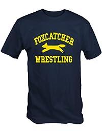 Foxcatcher Wrestling T Shirt ( Navy Blue S - XXL )