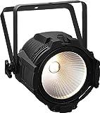 Leuchtkraft PARC-64/CTW LED-Scheinwerfer mit neuester Chip-on-Board-Technologie (COB), schwarz