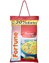 Fortune Super Basmati Rice, 5kg with 30% Extra