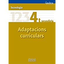 Tecnologies 4º ESO Adaptacions Curriculars (Comunitat Valenciana) (Cuadernos Oxford) - 9788467371307